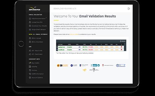 zerobounce email verification servic