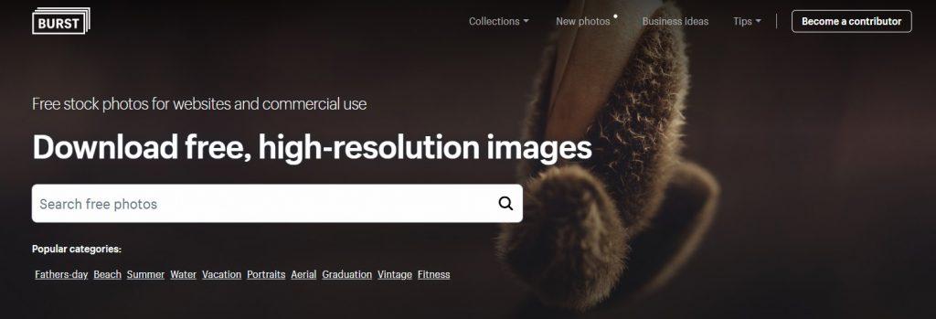 free stock photo site burst