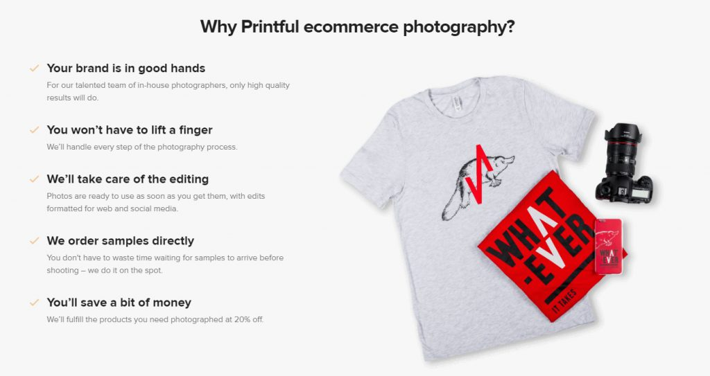 printful global photography services