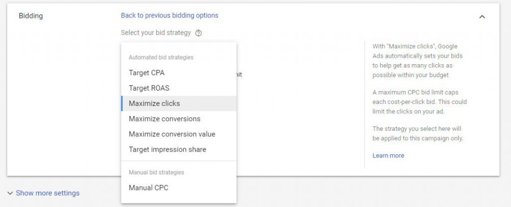 google bidding strategies