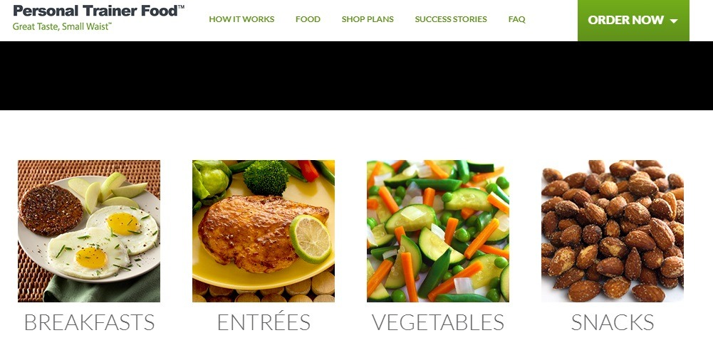 personal trainer meal categories