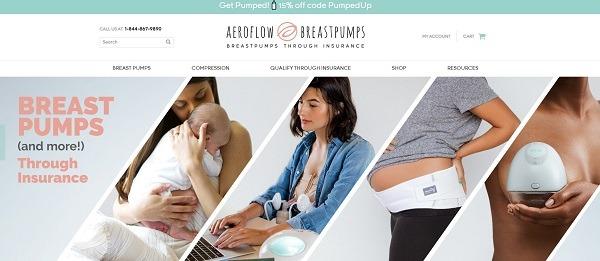 aeroflow breastpump store example