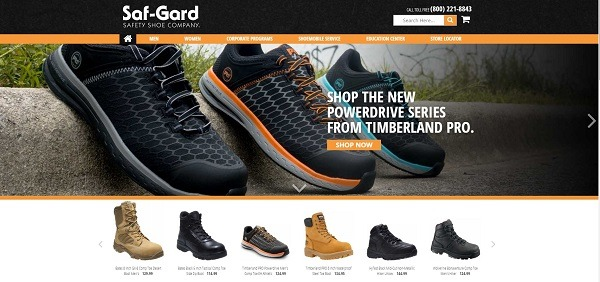 best-selling safety shoes store example