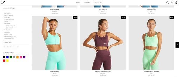 gym shark trending sport bras