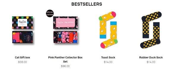 happy socks popular product category novelty socks