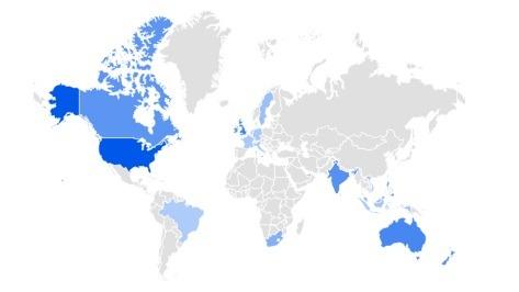 mesh shoes trending product 2020 per region