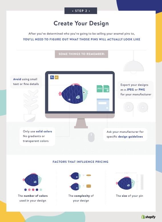 how to start enamel pin business online