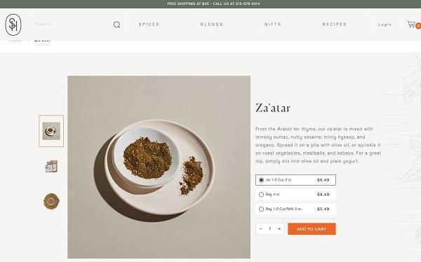 za'atar online spice store
