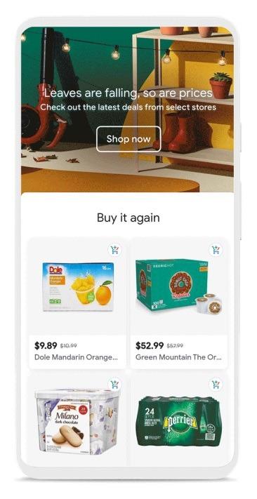 google shopping experience