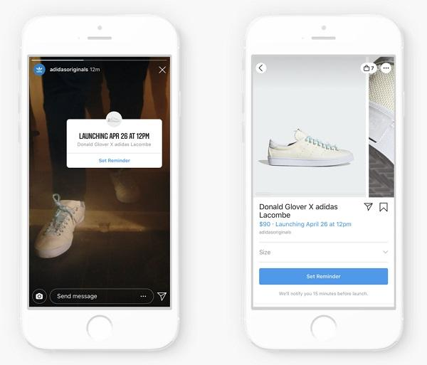 Instagram Product Launch Reminders