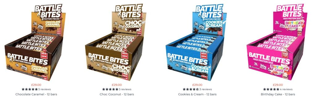 battle snacks example of product page reviews