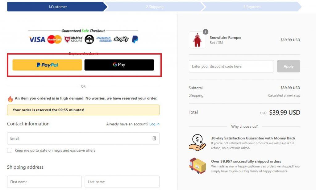 eloiseandlolo good checkout example 2