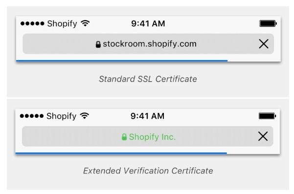 shopify plus SSL verification