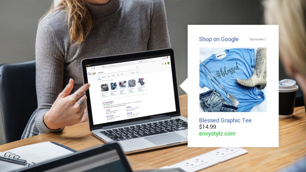 Product Shopping Ads example