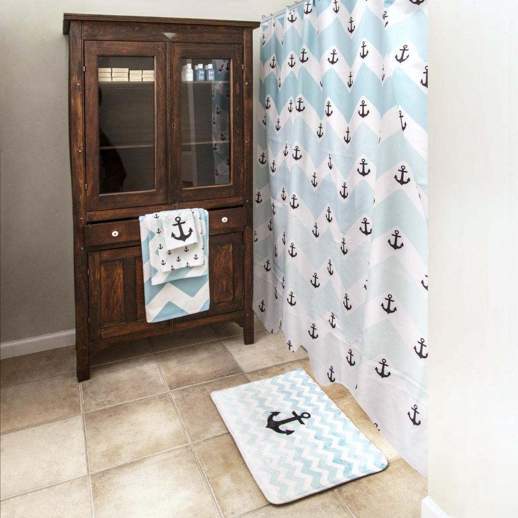print on demand shower mat