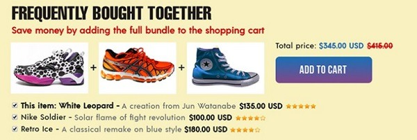 Frequently bought together shopify app