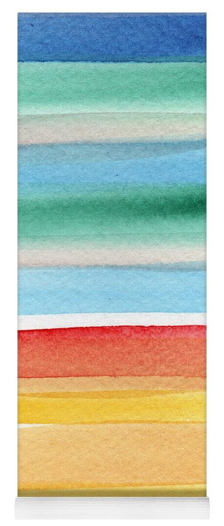 beach-blanket-colorful-abstract-painting-linda-woods