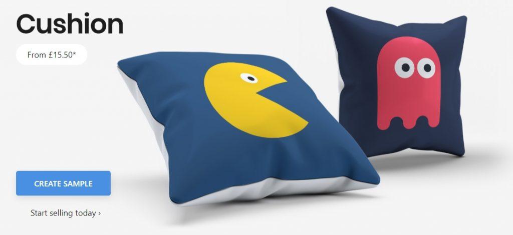kite.ly print on demand throw pillows