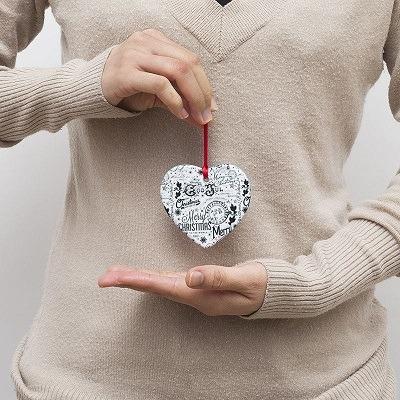 print on demand Christmas ornaments