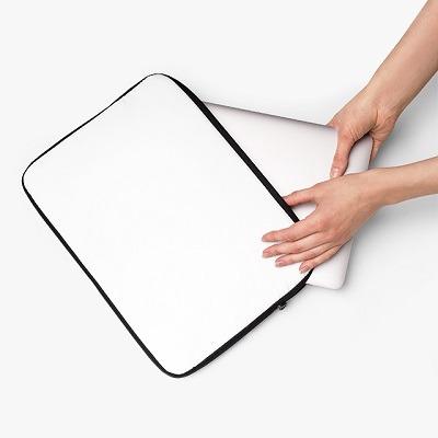 print on demand laptop sleeve