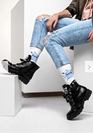 print on demand socks printful