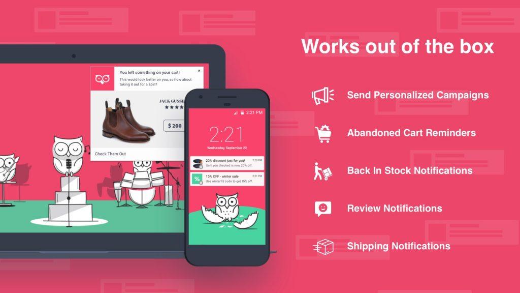 pushowl best shopify app 2020