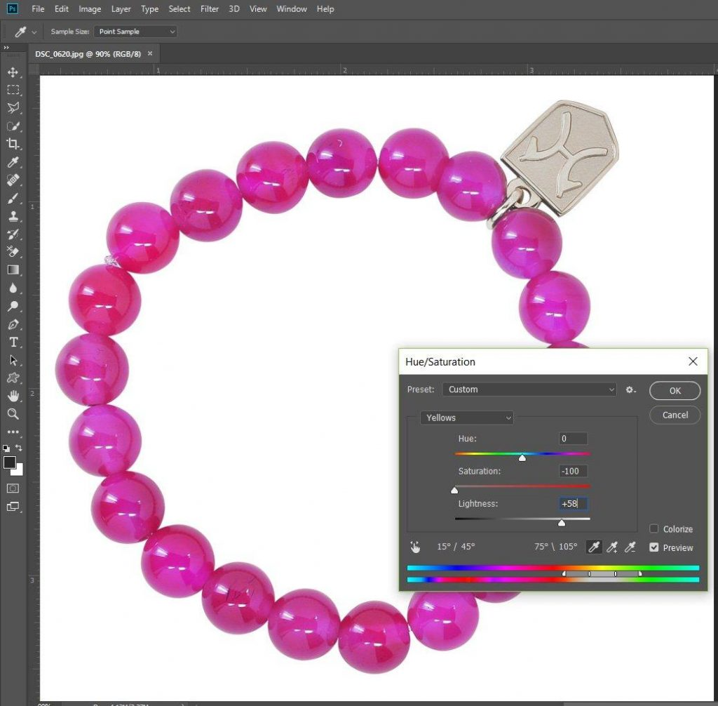 how to change product color photoshop