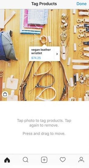 how to add shopping tags to Instagram posts