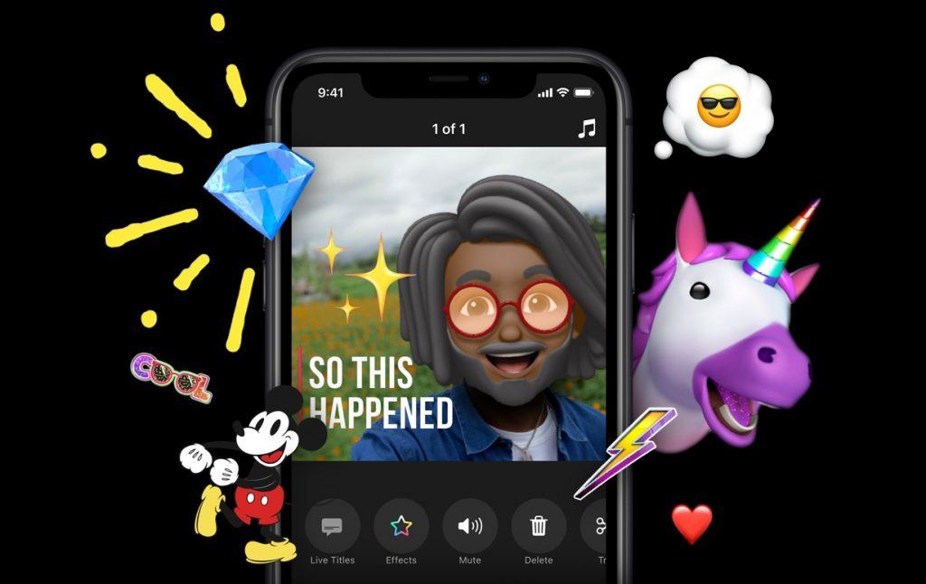 clips video creation app apple