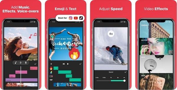 instashot video editing mobile app