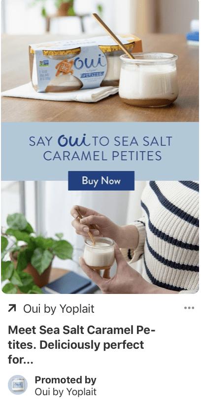 pinterst ad example