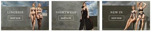 bluebella eCommerce clothing store example