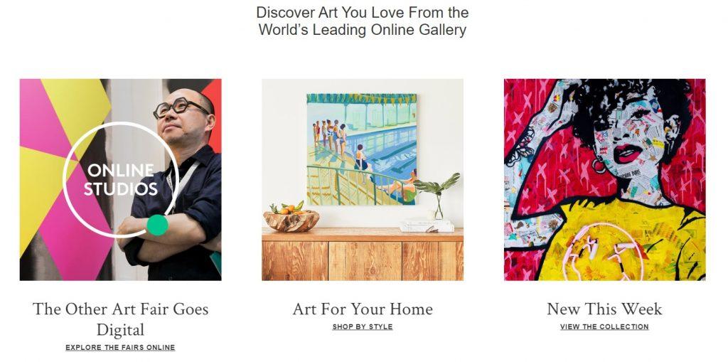 saatchiart sell art online
