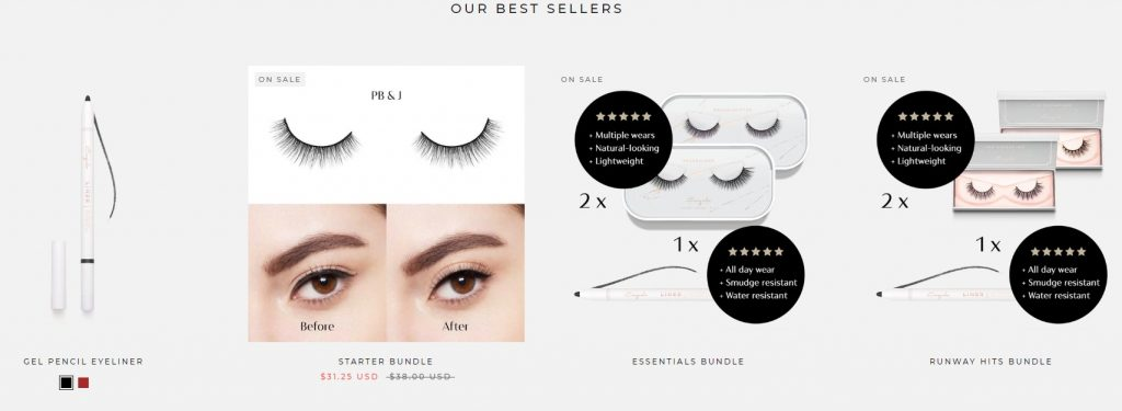 Esquido eCommerce best selling product banner
