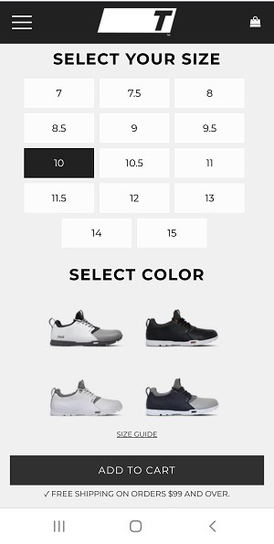 creative product page example