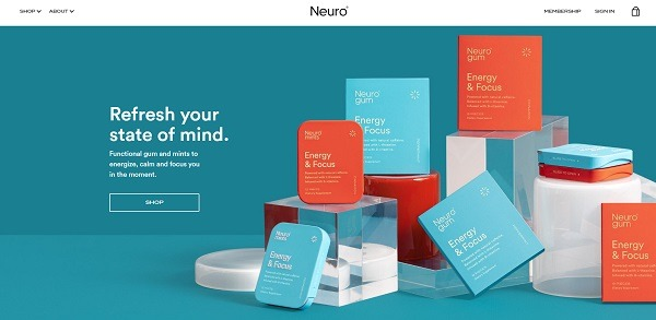 neuro eCommerce website example