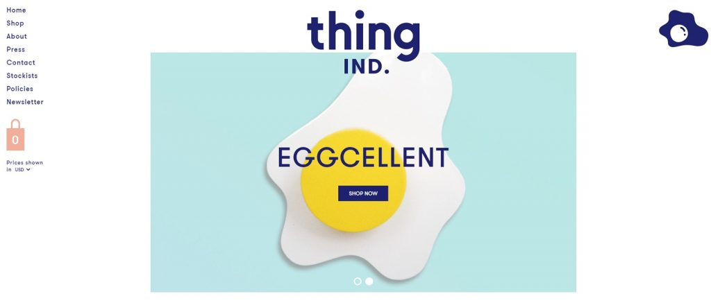 thing IND online store example
