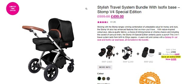 icklebubble online store product description example