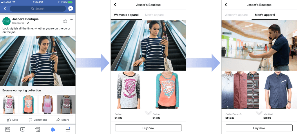 showcase images and video with your product catalogs