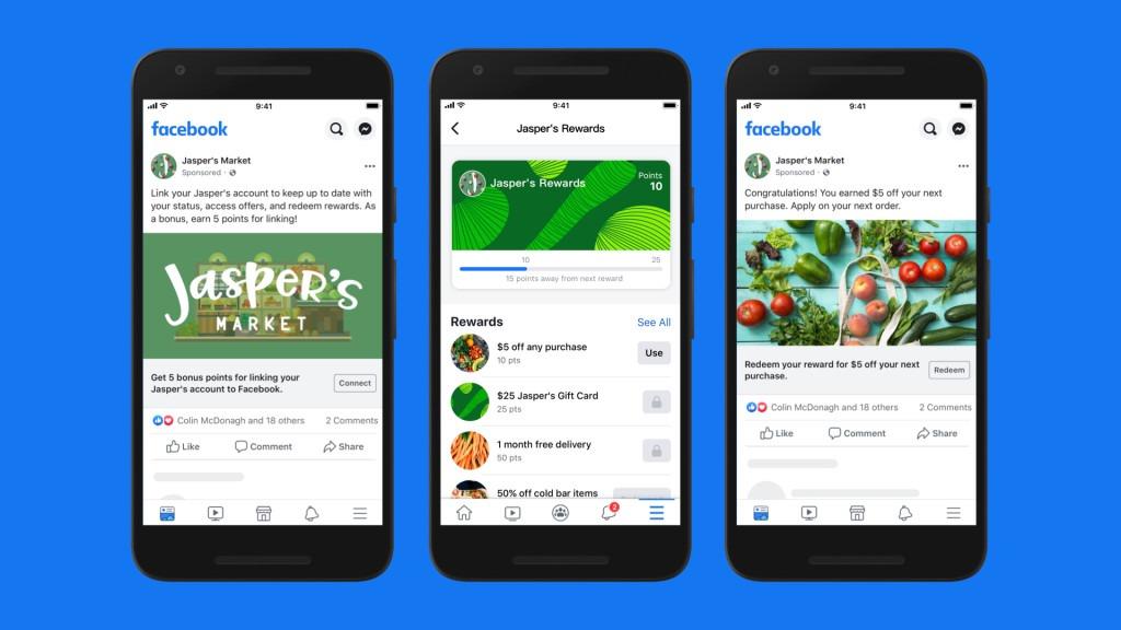 Facebook shop loyalty plan feature