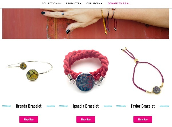 Rebel Nell winning online jewelry store example