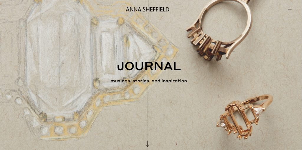 anna shefield jewelry store blog