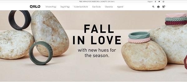 qalo winning online jewelry store example