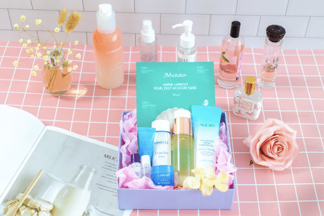 beauty subscription online store example
