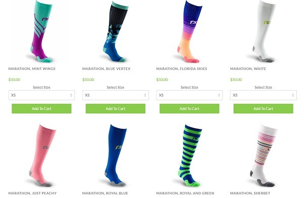 compression socks online store example
