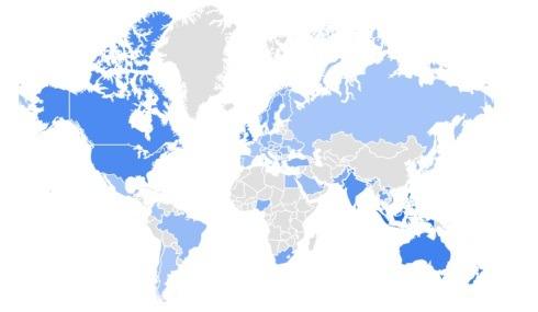 lip balm trending products per region