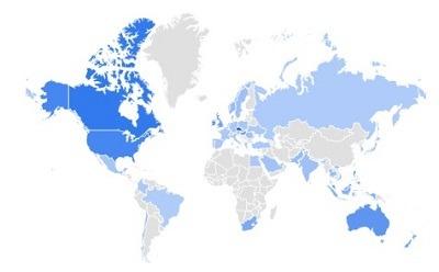 matcha tea trending products per region