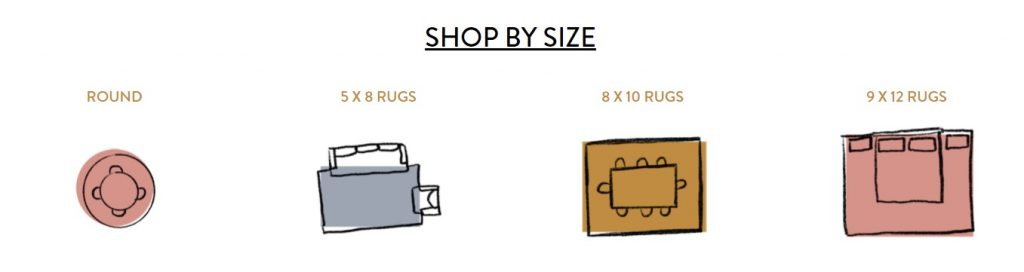 shop by size online store rugs