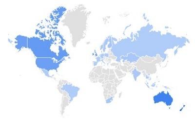 waterproof pants google trending product per region