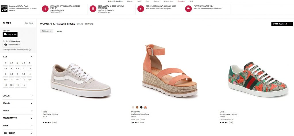 athleisure luxury shoes